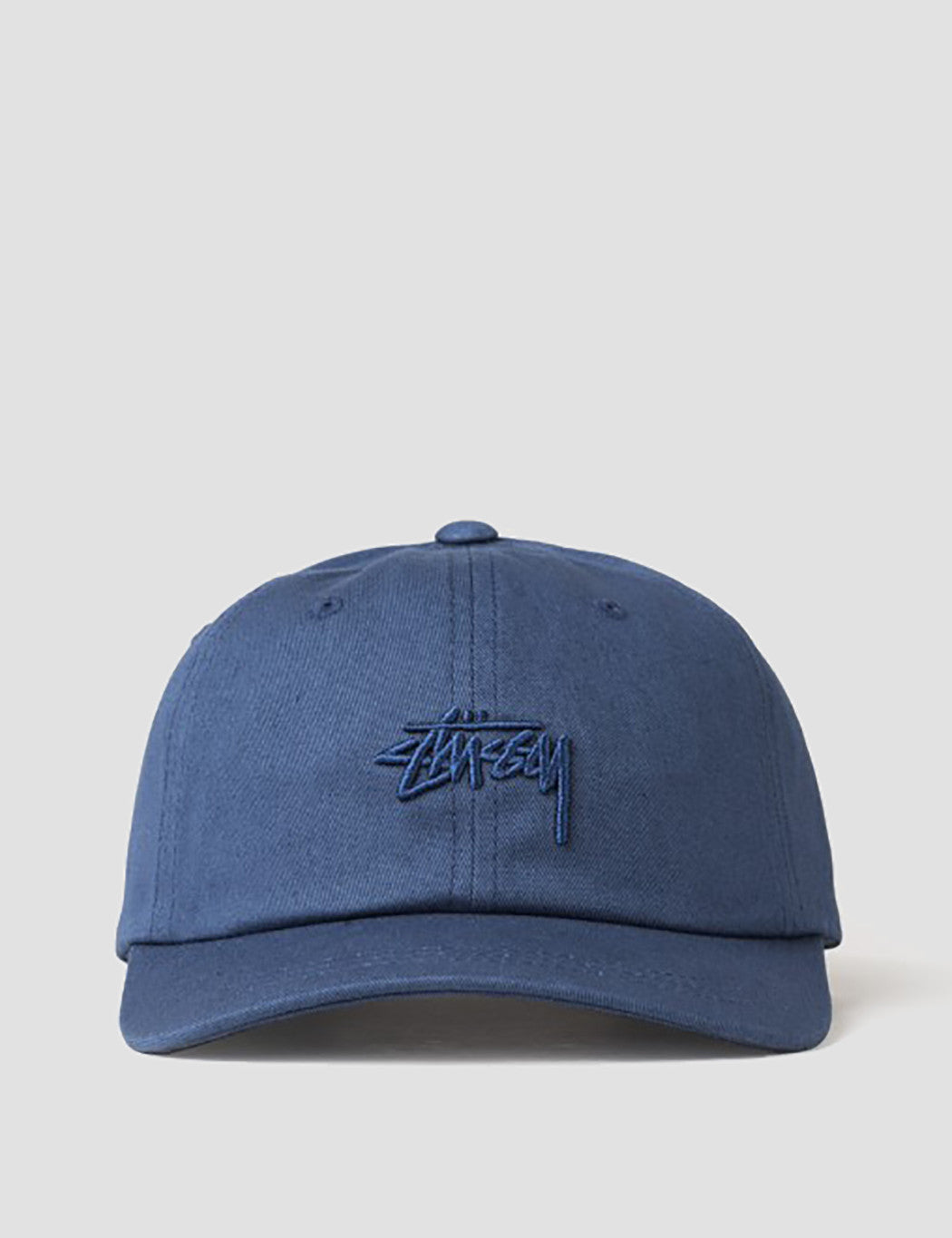 Stussy Tonal Stock Low Cap - Navy Blue