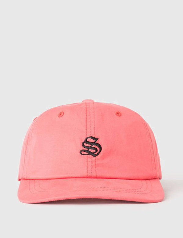 Stussy Bio Washed Low Cap - Red