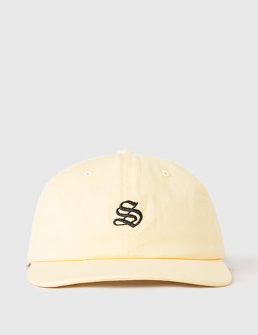 Stussy Bio Washed Low Cap - Yellow