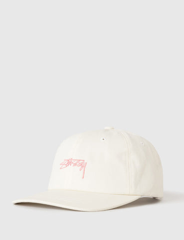Stussy Smooth Stock Low Cap - Cream