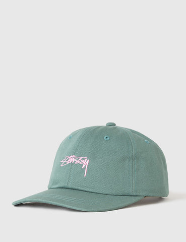 Stussy Smooth Stock Low Cap - Green