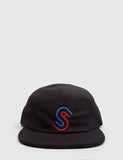 Stussy Foam Fleece USA Camp Cap - Black