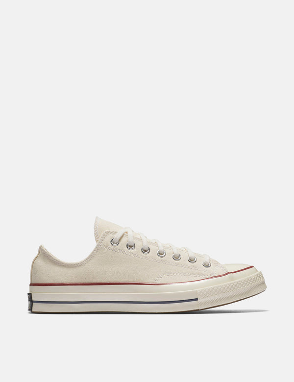 Converse 70er Chuck Taylor Low 162062C (Canvas) - Pergament