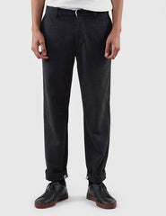 Gant Rugger Wool Trousers - Charcoal Melange