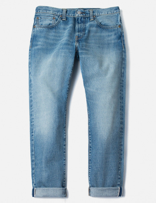 Levis 511 Jeans 14oz (Slim) - Quicksand Wash