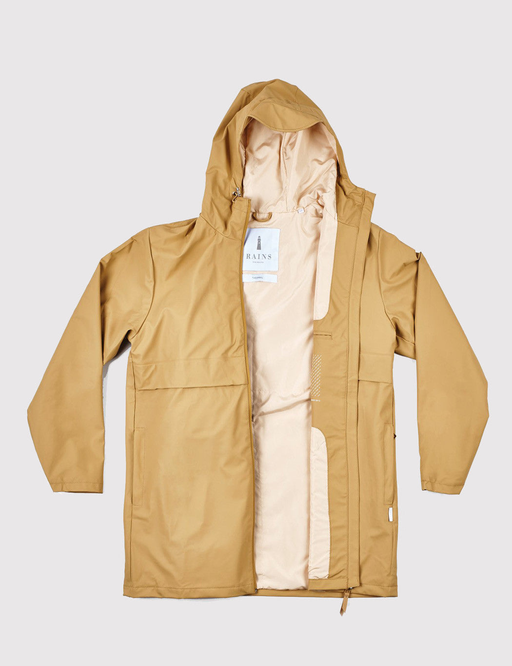 Rains Mile Jacket - Khaki