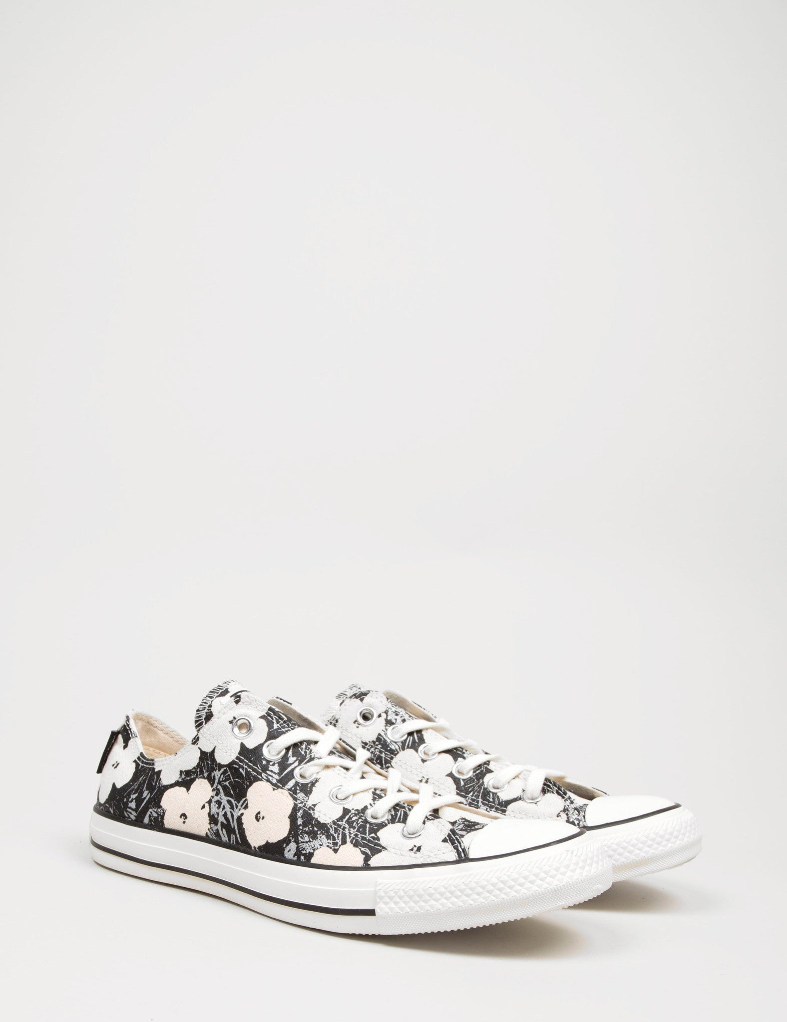 Converse All Star Hi Andy Warhol Floral - Black/Natural