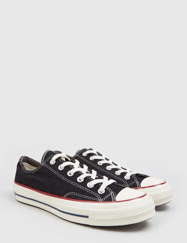 Converse 70's Chuck Taylor Low (Denim) - Black