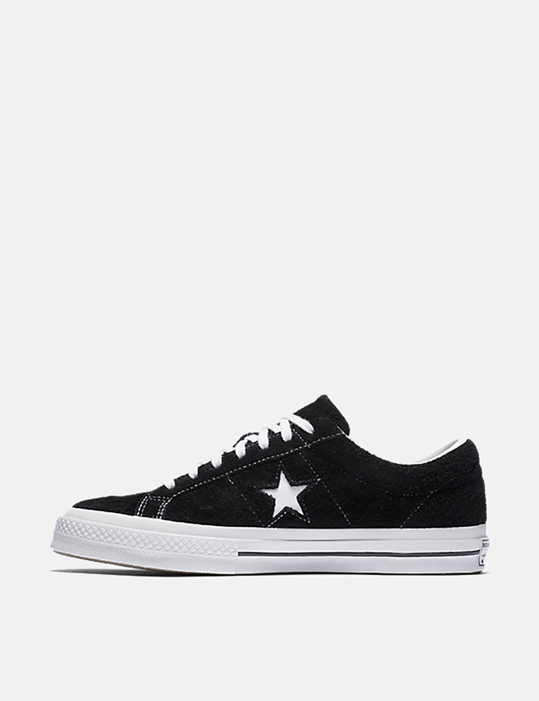 Converse One Star Ox Low Suede (158369C) - Black/White