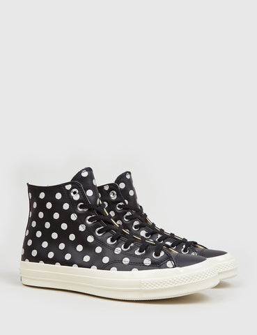 Converse 1970's Chuck Taylor Hi (Leather) - Black