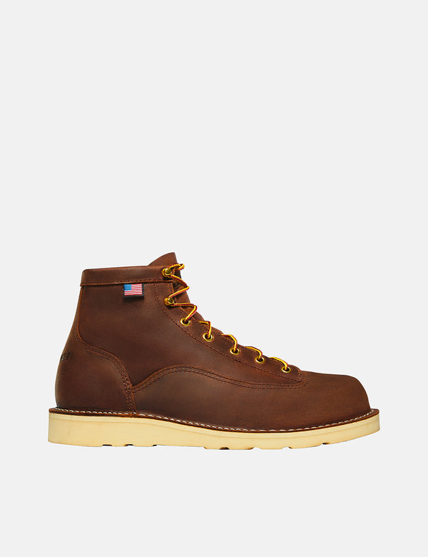"Danner Bull Run 6"" Boot (15547) - Tobacco"