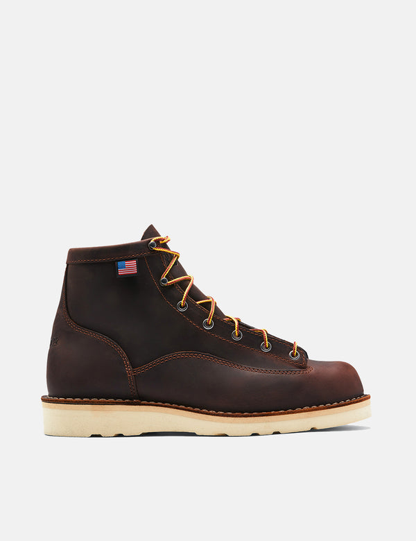 "Danner Bull Run 6"" Boot (15552) - Brown"
