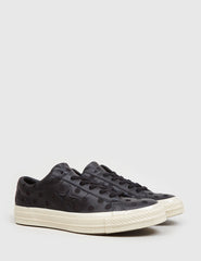 Converse One Star '74 (Polkadot Leather) - Black