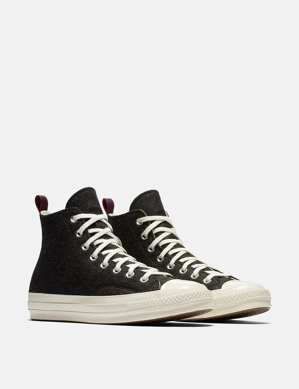 Converse Chuck Taylor All Star 70 Suede Zip Hi Black/Egret Size US11/UK11