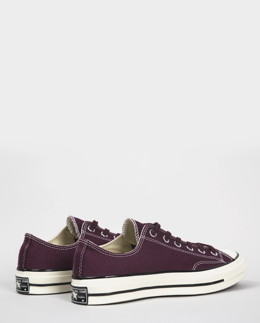 Converse 70's Chuck Taylor Low (Canvas) - Dark Red