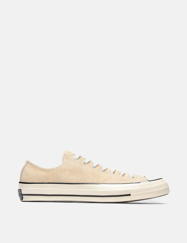 Converse 70's Chuck Taylor Low (Suede) - Light Twine/Egret