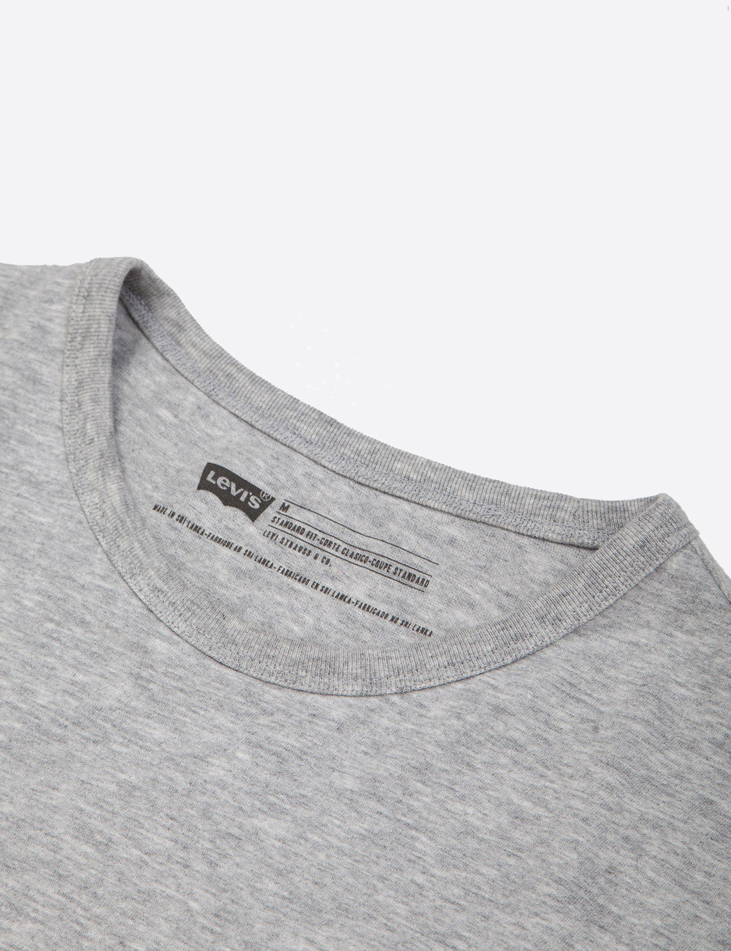 Levis Sunset Pocket T-Shirt - Grey Heather