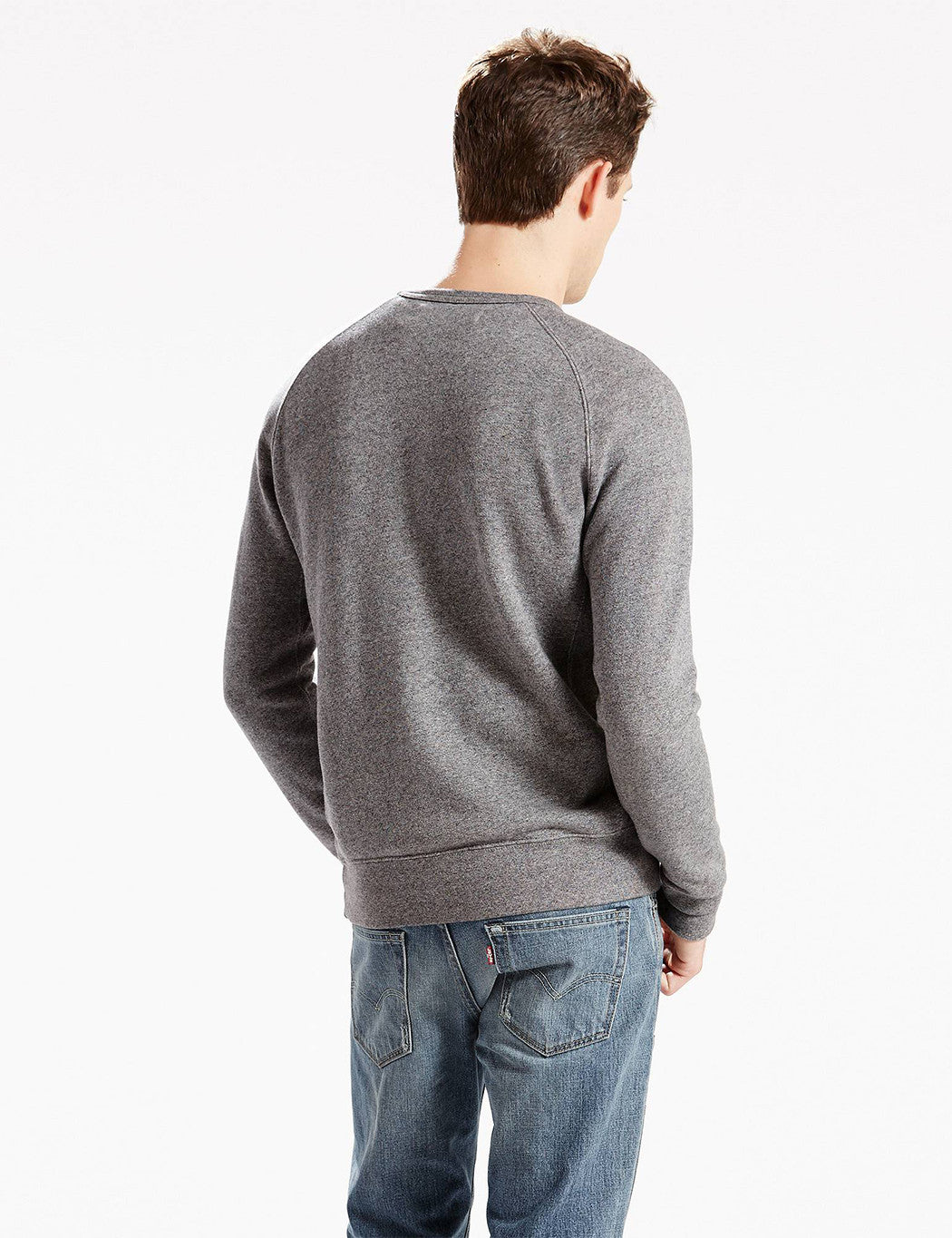 Levis Original Crew Sweatshirt - Grey Heather