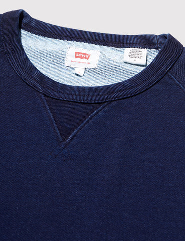 Levis Original Crew Sweat - Indigo Blue