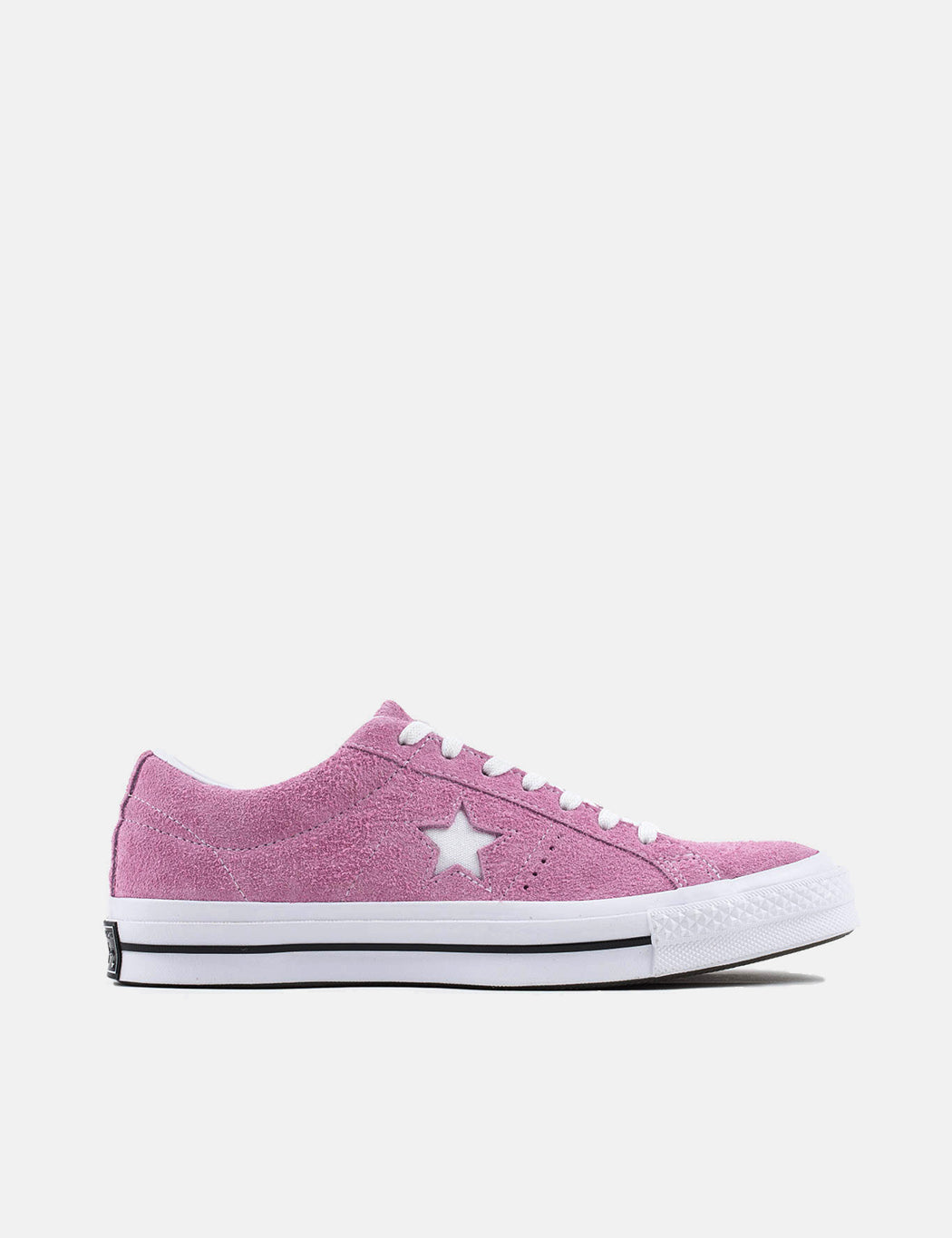 23d809f26ce Converse One Star Ox Low Suede (159492C) - Light Orchid White Black ...