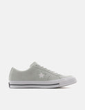 Converse One Star Ox Low Suede (159493C) - Dried Bamboo/White/Black