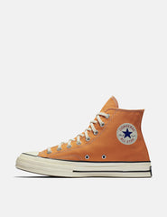Converse 70's Chuck Hi 159622C (Canvas) - Tangelo Orange/Black/Egret