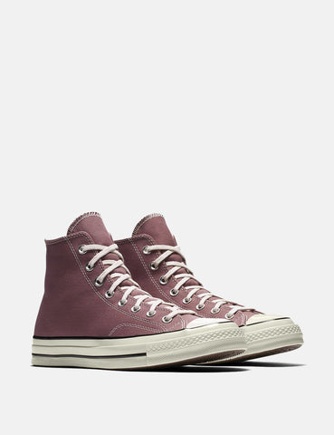 Converse 70's Chuck Hi 159623C (Canvas) - Saddle Red /Black/Egret