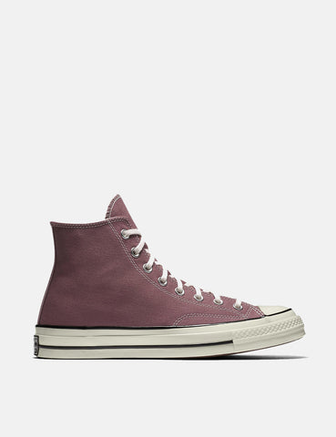 Converse 70's Chuck Hi 159623C (Canvas) - Saddle Red/Black/Egret