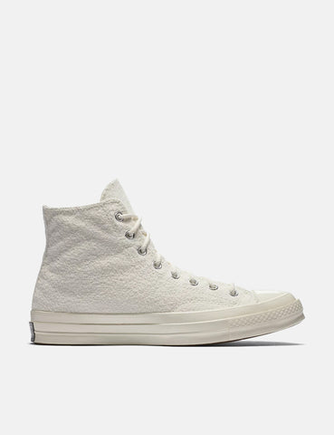 Converse CTAS 70s Chuck Taylor Hi Reverse French Terry - Egret