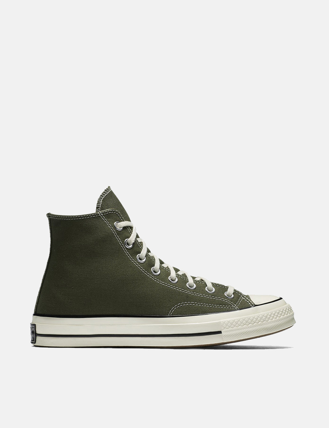 Converse 70's Chuck Hi 159771C (Canvas) - Herbal Green/Black/Egret