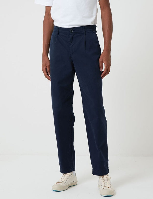 Pantalon Bhode Everyday (Relaxed, Cropped Leg) - Night Sky Blue
