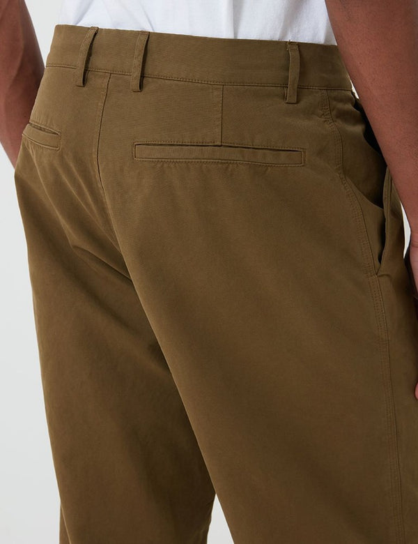 Pantalon Bhode Everyday (Relaxed, Cropped Leg) - Military Olive