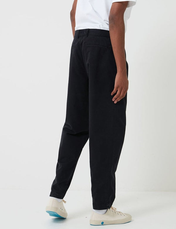 Bhode Everyday Pant (Relaxed, Cropped Leg) - Black