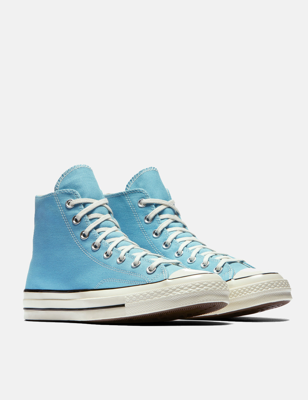 Converse 70's Chuck Hi 161440C (Canvas) - Shoreline Blue/Black/Egret