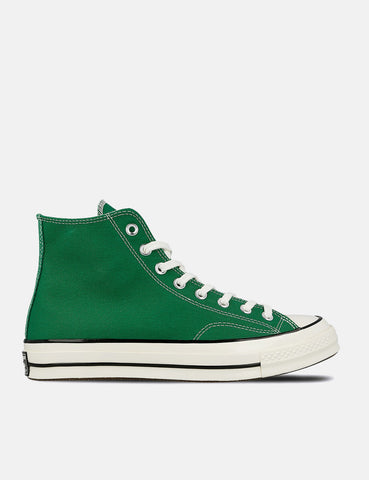 Converse 70's Chuck Hi 161441C (Canvas) - Green/Black/Egret