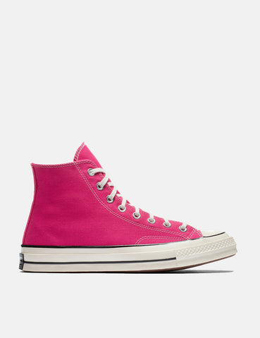 Converse 70's Chuck Hi 161442C (Canvas) - Pink Pop/Black/Egret