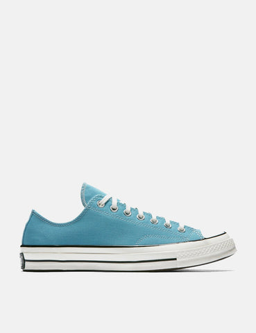 Converse 70's Chuck Low 161444C (Canvas) - Shoreline Blue/Black/Egret