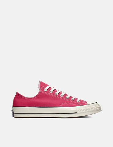 Converse 70's Chuck Low 161445C (Canvas) - Pink Pop/Black/Egret