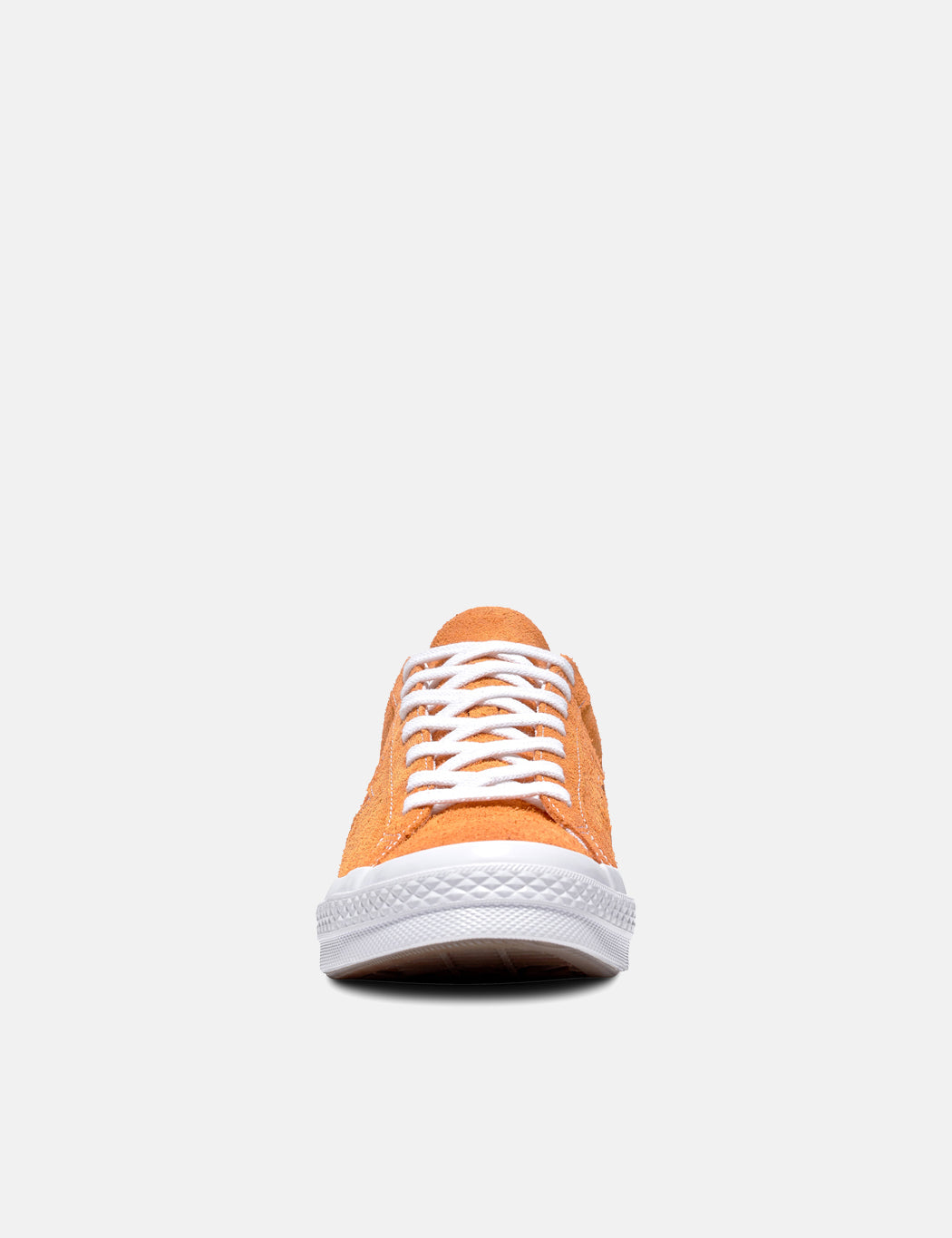 Converse One Star Ox Low Suede (161574C) - Bold Mandarin Orange/White/White