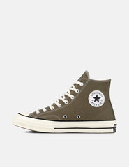 Converse 70's Chuck Hi 162052C (Canvas) - Field Surplus Green/Black/Egret
