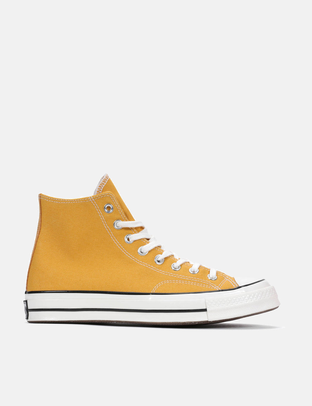 ee55bdaca34ed5 Converse 70 s Chuck Hi 162054C (Canvas) in Sunflower Yellow Black Egret