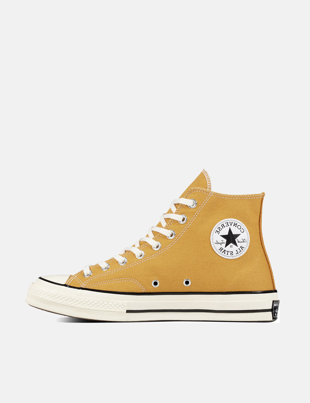 big sale 82478 b510b ... new zealand converse 70s chuck hi 162054c canvas sunflower yellow black  egret 6897a 4dbfd