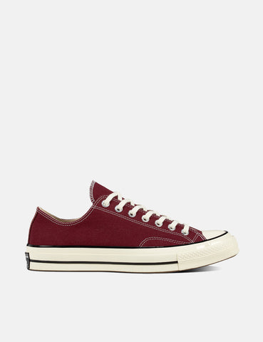 Converse 70's Chuck Low 162059C (Canvas) - Dark Burgundy/Black/Egret