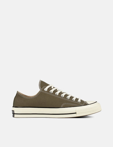 Converse 70's Chuck Low 162060C (Canvas) - Field Surplus Green/Black/Egret