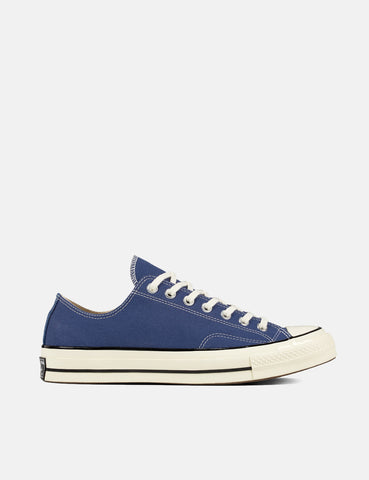Converse 70's Chuck Low 162064C (Canvas) - True Navy Blue/Black/Egret