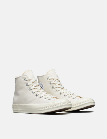 Converse 70's Chuck Hi 162210C (Canvas) - Natural/Egret