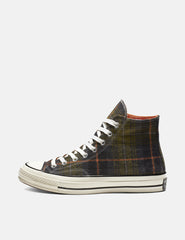 Converse 70's Chuck Taylor Hi (162404C) - Medium Olive/Campfire Orange