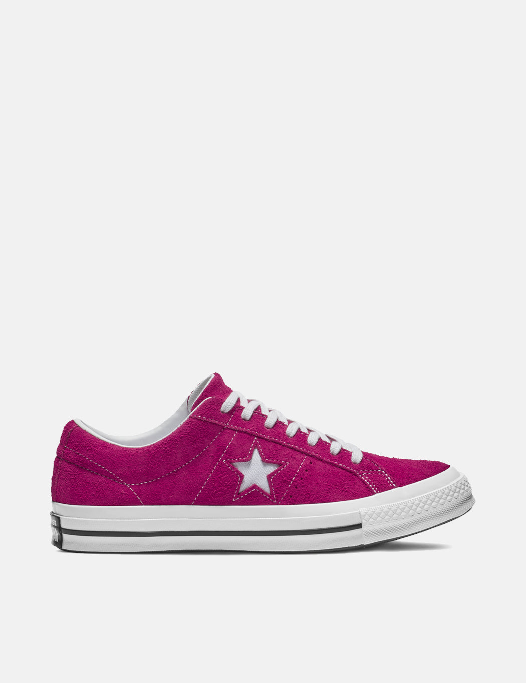 Converse One Star Ox Low Suede (162575C) - Pink Pop/White