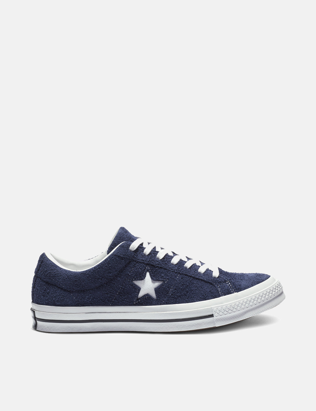 5470058eed90 Converse One Star Ox Low Suede (162576C) - Eclipse White