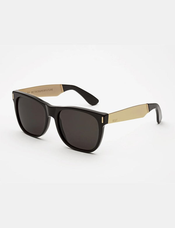 RetroSuperFuture Classic Sunglasses - Black/Gold